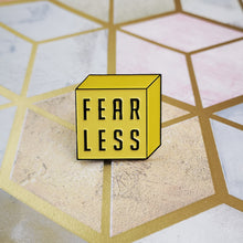 FEARLESS Charity Enamel Pin