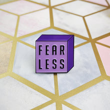 Load image into Gallery viewer, FEARLESS Enamel Pin