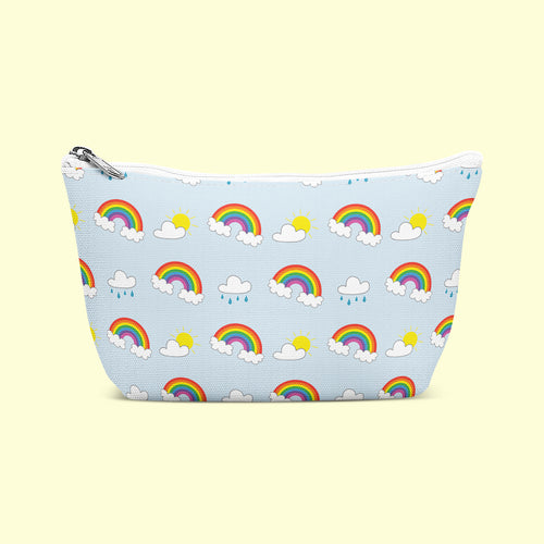 Rainbow Pattern Cosmetic/Wash Bag