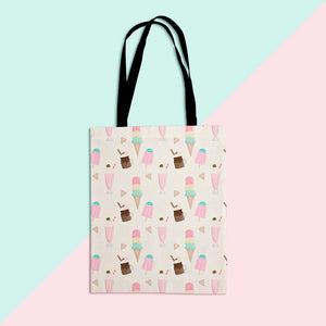 Sweet Treats Pattern Tote Shopper Bag