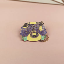 Load image into Gallery viewer, Vintage Telephone Enamel Pin