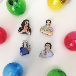 Stranger Things Enamel Pins