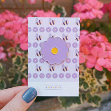 Load image into Gallery viewer, Daisy Enamel Pins