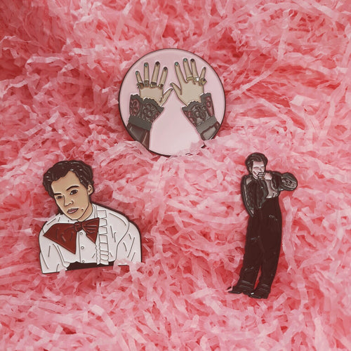 Harry Met Gala Enamel Pins