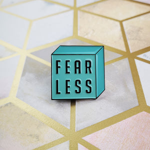 FEARLESS Enamel Pin