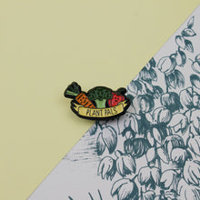 Load image into Gallery viewer, Plant Pals Vegan Enamel Pin