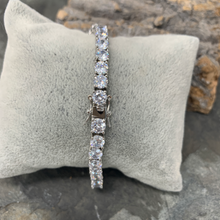 Load image into Gallery viewer, Large Stone Tennis Bracelet