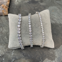 Load image into Gallery viewer, Medium Stone Tennis Bracelet