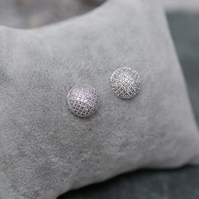 Multi-faceted Diamanté Studs
