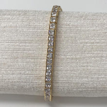 Load image into Gallery viewer, Gold Square Cut Adjustable Friendship Bracelet