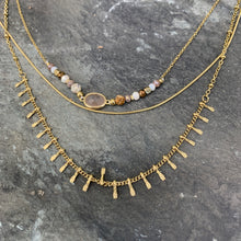 Load image into Gallery viewer, Triple Layer Gold Necklace