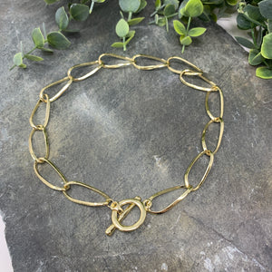 Gold Toggle Necklace