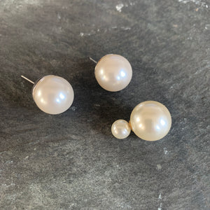 Very Large Pearl Studs