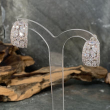 Load image into Gallery viewer, Exquisite Diamond Crescent Earrings