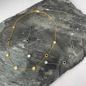Delicate Collar Length Necklace