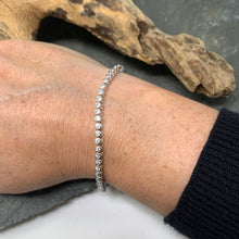 Load image into Gallery viewer, Delicate Round Cut Tennis Bracelet