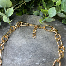 Load image into Gallery viewer, Chunky Gold Drop Necklace