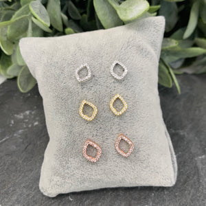 Irregular Diamanté Studs