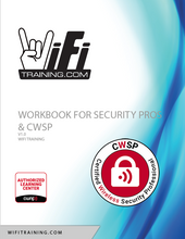 Load image into Gallery viewer, Lab Workbook for Security Professionals and CWSP