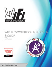 Load image into Gallery viewer, WWDesign - Wireless Workbook for Design and CWDP