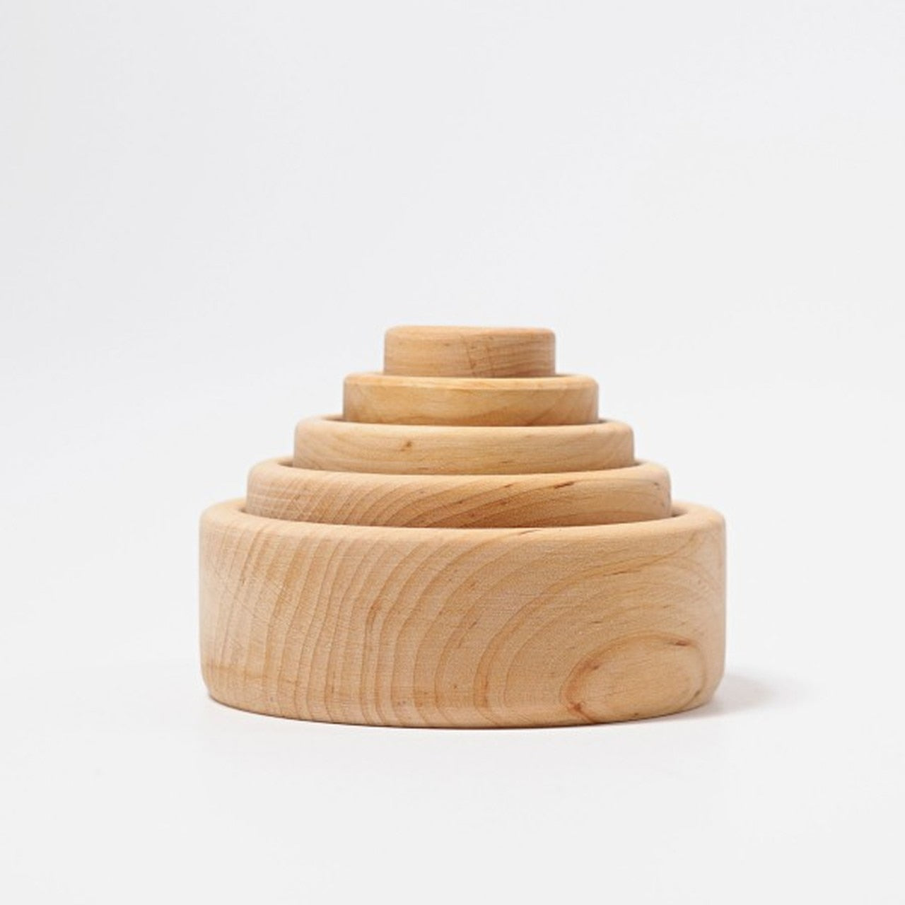 grimms wooden stacking bowls