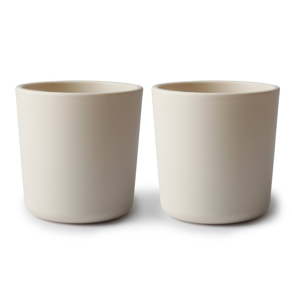 dinnerware cups - set of two | ivory