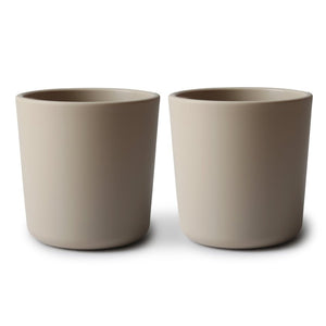 dinnerware cups - set of two | vanilla