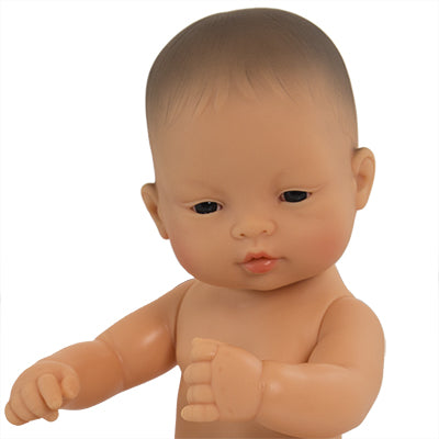 miniland doll asian baby girl 32 cm