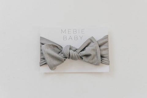 softest newborn head wrap by mebie baby