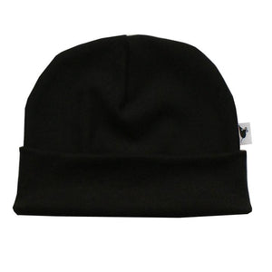 bamboo fleece fitted beanie by lille mus