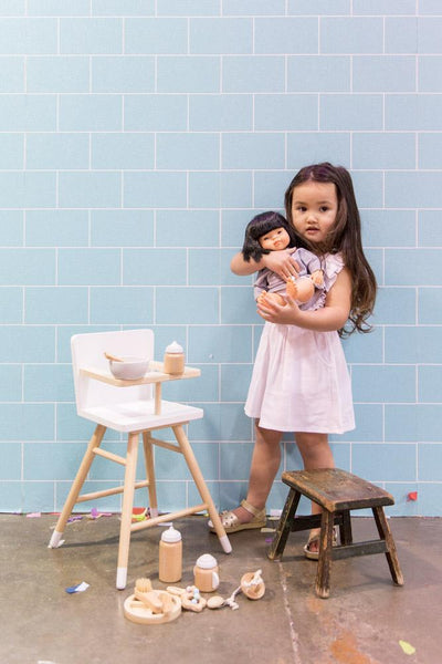 wooden doll accessory set by make me iconic
