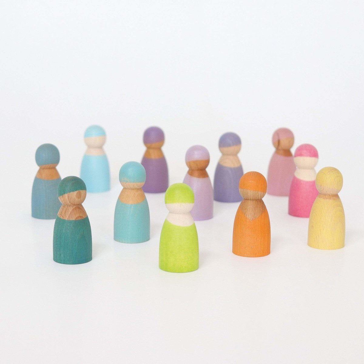 grimms 12 pastel rainbow friends
