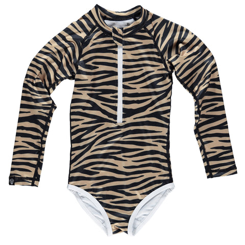 beach & bandits tiger shark upf 50+ swimsuit