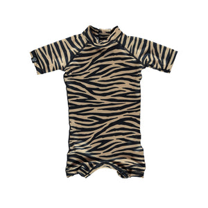 beach & bandits tiger shark upf 50+ infant swimsuit
