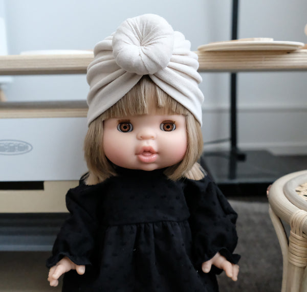 softest turban for 38/34/32 cm doll