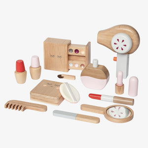 wooden beauty toy set