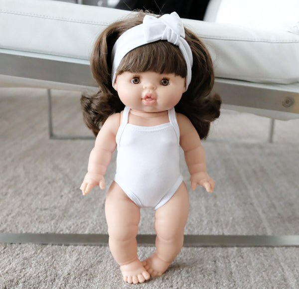 softest cotton body/swim suit for 38/34/32 cm doll
