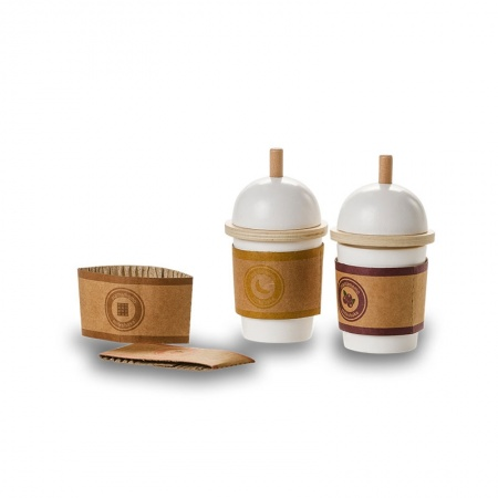 wooden milkshake to go