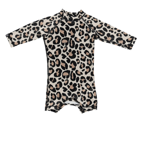 beach & bandits leopard shark upf 50+ infant swimsuit