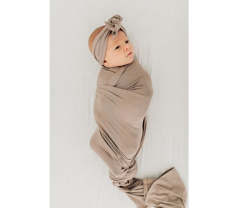 softest stretch swaddle by mebie baby