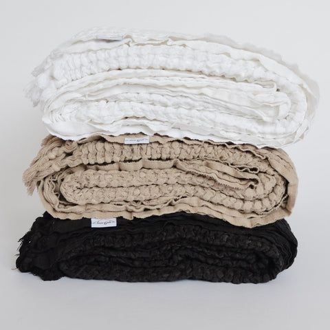 softest waffle blanket by house of jude