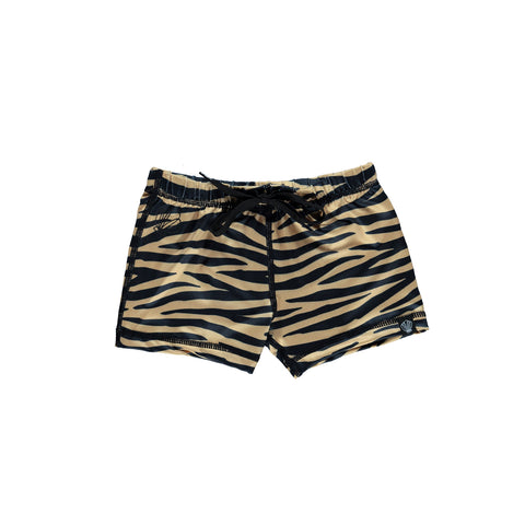 beach & bandits tiger shark UPF50+ swim shorts