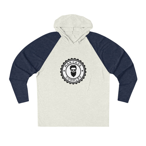 Man Cave Complex Tri-Blend Hooded T-Shirt