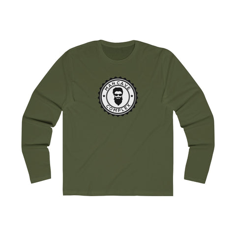Man Cave Complex Long Sleeve Crew Tee