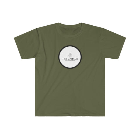 The Garage Logo Fitted Short Sleeve Tee
