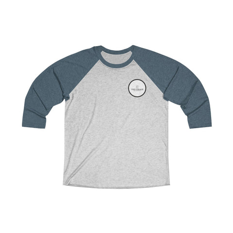 The Garage Logo Tri-Blend 3/4 Raglan Tee