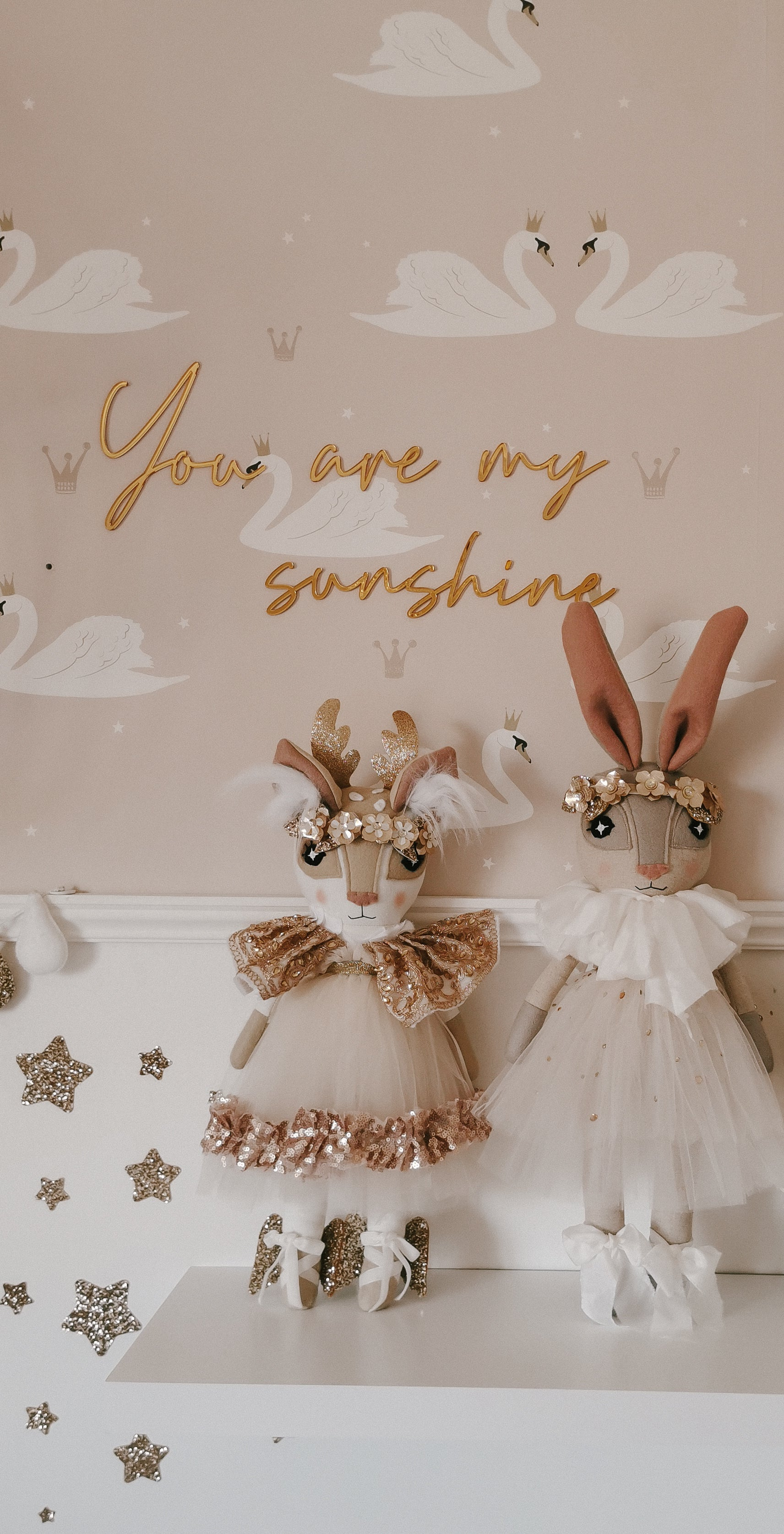 "PREORDER ""You are my sunshine"" Mirrored Wall Quote"