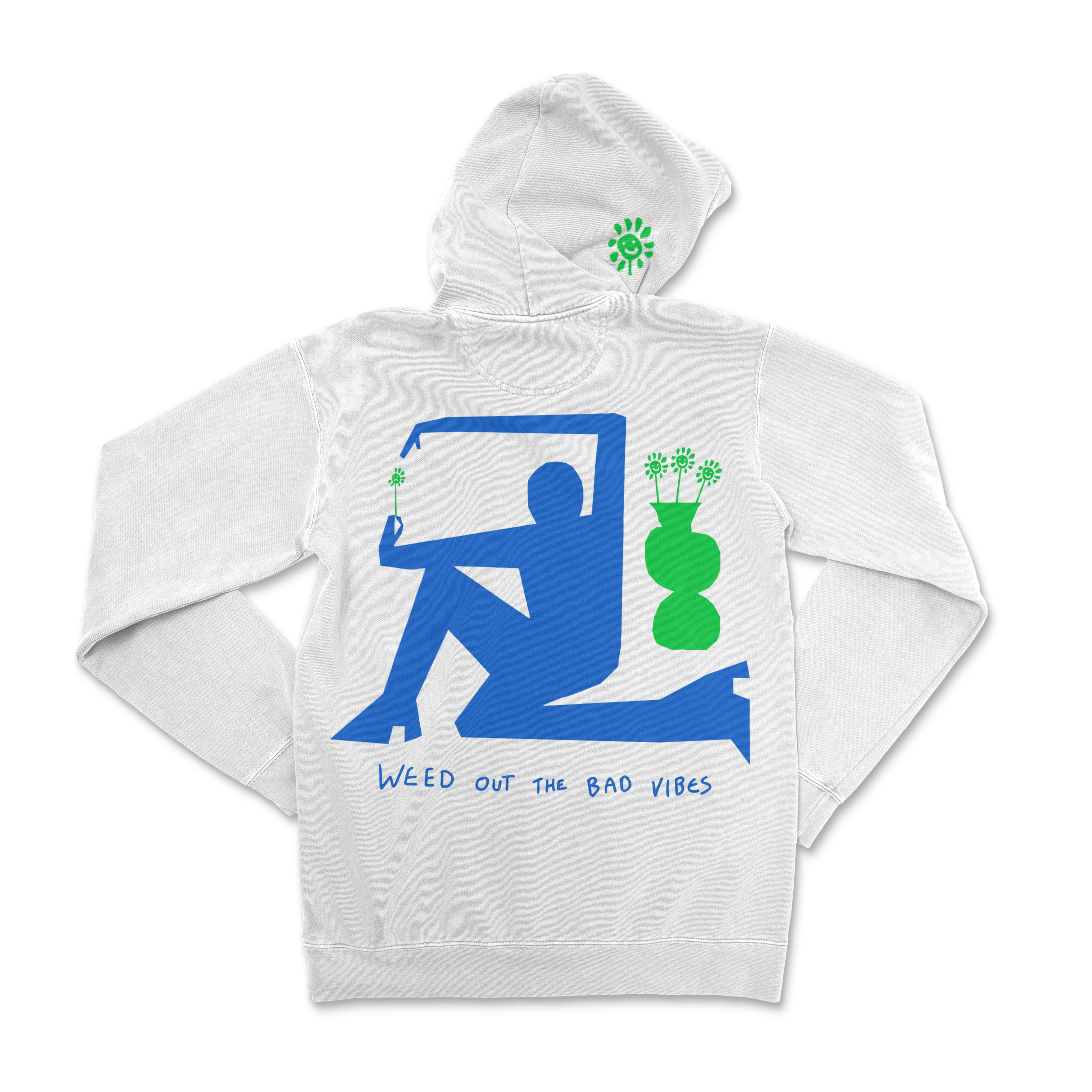 Weed Out The Bad Vibes Hoodie - Sackville & Co.