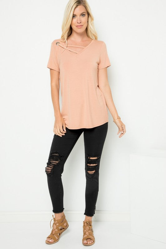 Always a Loophole - Short Sleeve Top
