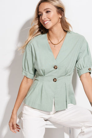 The Perfect Opportunity - Button Top